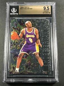 KOBE BRYANT 1996 FLEER METAL #181 FOIL EMBOSSED ROOKIE RC BGS 9.5 GEM LAKERS NBA