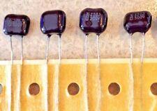 4-PCS  270pf / 500V 5% Silver Mica  Cornell Dubilier CDM capacitors