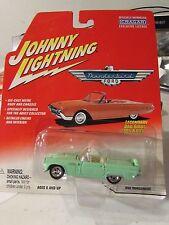 Johnny Lightning 1956 Ford Thunderbird Lt Green