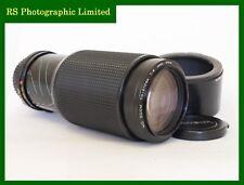 Minolta MD zoom 70-210 mm F4 obiettivo messa a fuoco manuale. stock N. U8087