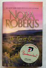 Nora Roberts Paperback Book The Law Of Love