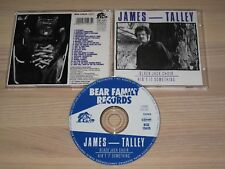 JAMES TALLEY CD - BLACKJACK CHOIR / AIN'T IT SOMETHING / BEAR FAMILY in MINT