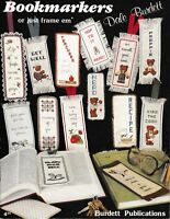 Bookmarkers or Just Frame 'em Charted Cross Stitch | Burdett Publications