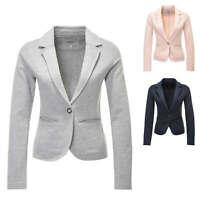 Only Damen Sweat Blazer Anzugjacke Business Jacke Jackett Color Mix NEU
