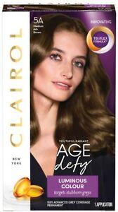 Clairol Age Defy Permanent Hair Colour - Medium Ash Brown 5A