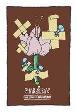 "Cuban decor Graphic Design movie Poster for""CHAPUCERIAS.Flower""Cuba Art film"