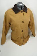 Vintage Woolrich Wool Blanket Lined Barn Chore Coat Jacket Women's Size Large