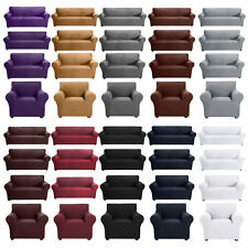 1 2 3 4 Seaters Elastic Slipcover Sofa Cover Stretch Lounge Furniture Protector