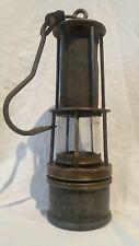 Vintage Davy Lamp Miner's Paraffin Lantern Hungarian