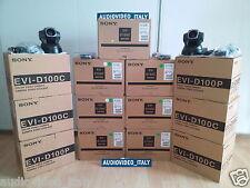 SONY EVI D100 PAL Neue  Videokonferenz Kamera Pan Tilt Zoom BRC RM BR BROADCAST