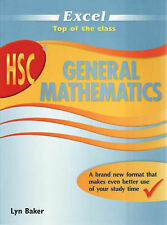 Excel HSC General Maths by Lyn Baker (Paperback, 2008)