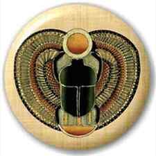 Egyptian Scarab Beetle 25Mm Pin Button Badge Lapel Pin