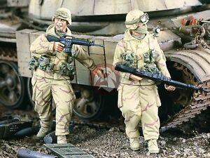 Verlinden 1/35 US Infantry in Parkas in Iraq War (2 Figures) [Resin Model] 2080