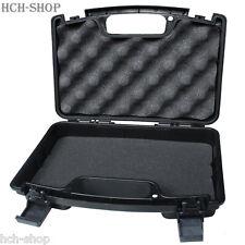 MFH pistolets valise plastique valise Klein verrouillable Noir 26x20,5x7,8 CM