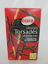 Cora Bâtonnets Torsadés chocolat noir, Sticks avec sombre CHOCOLAT 90 g