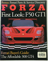 FORZA Magazine Number 7 Fall 1997 FIrst Look Ferrari F50 GT1 and 308 GT4  80 pgs