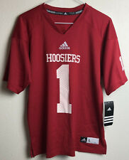 NWT Adidas Indiana Hoosiers Red Classic Jersey Number 1 Youth Large