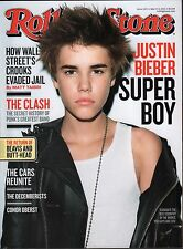 Rolling Stone March 3 2011 Justin Bieber, The Clash EX 121815DBE2