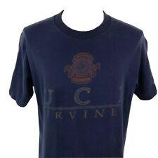 Vintage 90s Uci University of California Irvine Fotl Single Stitch T Shirt Large