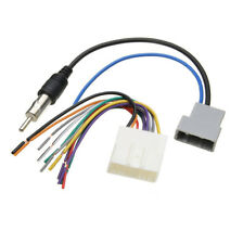 Install Stereo Wire Harness Cable Plugs Antenna Adapter For Nissan Car DVD Radio