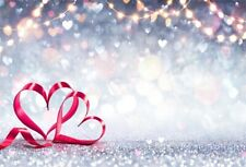 7x5ft Valentine'S Day Love Stars Flashing Photo Backdrops Vinyl Photography