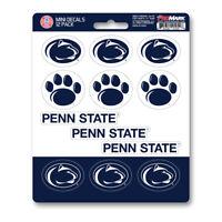 New NCAA Penn State Nittany Lions Premium Vinyl Die Cut Mini Decal Sticker Pack