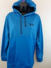 UNDER ARMOUR STORM 1 Women Pullover Hoodie Small Blue