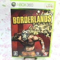 USED Xbox 360 Borderlands 95368 JAPAN IMPORT