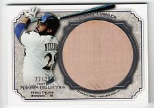 2012 Topps Museum Collection Jumbo Lumber Relic - Prince Fielder -Brewers #22/30