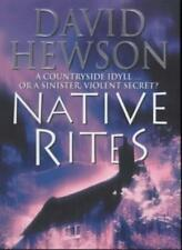 Native Rites,David Hewson