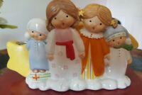 Goebel Children's Advent Caroling Figurine W/Candles