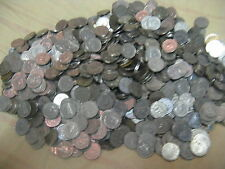 HUGE PILE 2000+ CANADIAN NICKELS MIX 1922 TO 1954 UNSEARCHED
