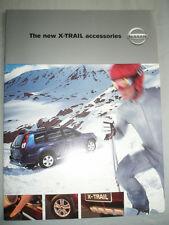 Nissan X Trail Accessories brochure Aug 2001