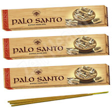 3 x Palo Santo Incense / Joss Stick Packs Holy Sacred Wood Insence/Insense