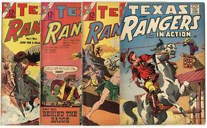Texas Rangers in Action #13 - 79 (23 issues)  avg. VG/FN 5.0  Charlton  1958