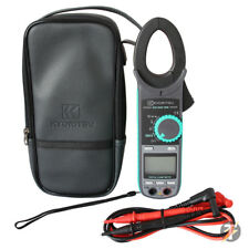 Kewtech KEW2040 Digital 600A AC CAT IV Clamp Meter with Carry Case