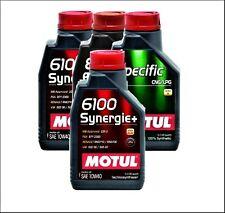 1 Litro 1ltr. Motul 6100 Sinergia + 10W-40,10W40 Aceite,Aceite de Motor