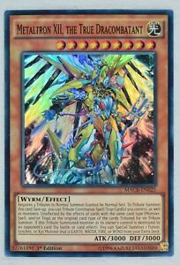 YuGiOh Metaltron XII, the True Dracombatant MACR-EN025 Super Rare 1st Edition