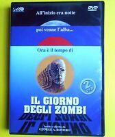 film,horror,movie,il giorno degli zombi,2 dvd,day of the dead,george romero rare