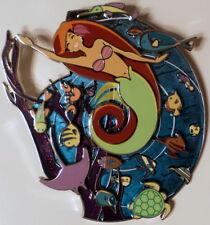 Ariel -The Little Mermaid-Jumbo Pin & Print-Platnium Acme Artist Series-Le 100