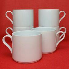 6x Arzberg Cult Weiß Kaffeetassen Kaffee-Obertassen Tassen 200 ml Porzellan