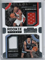2019-20 Panini Contenders Brandon Clarke Rookie RC Jersey Patch Dual Grizzlies🔥