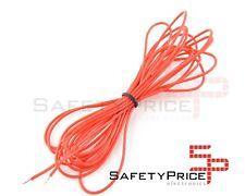 Cable AWG24 ROJO trenzado 5m 5 metros electronica soldar puente arduino SP