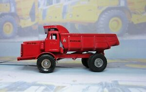 Code 3 Budgie 242Euclid R-45 Rear Dump Truck in red