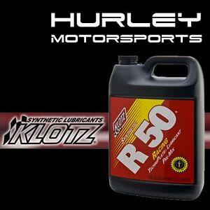 KLOTZ KL-105 / R50 Techniplate Synthetic 2-Stroke Racing Oil - Gallon - Qty (1)