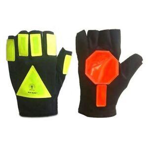 Glo Glov SuperStop Reflective Traffic Safety Gloves