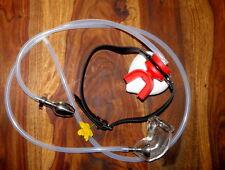 Sexy maschera in lattice o castità su di collare & plug chastitybelt con maschera strumenti