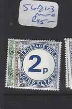 GIBRALTAR (P0504B)   POSTAGE DUE SG D1-3  MNH