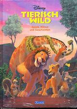 Tierisch wild. Spiele, Rätsel und Geschichten von Walt Disney