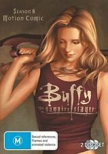 Buffy The Vampire Slayer Season 8 Motion Comic 2-Disc  Region 4 DVD EX Condition